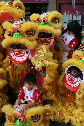 Dragon parade (or something)