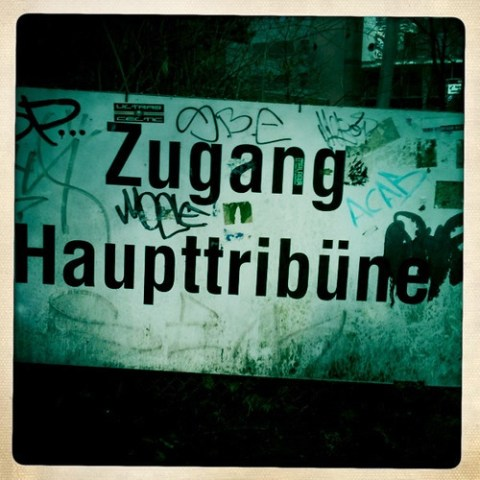 Zugang Haupttribüne FC St. Pauli