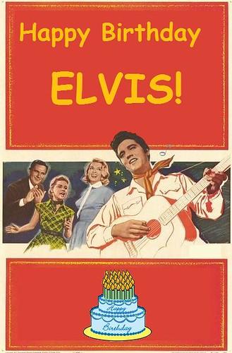 Happy Birthday Elvis