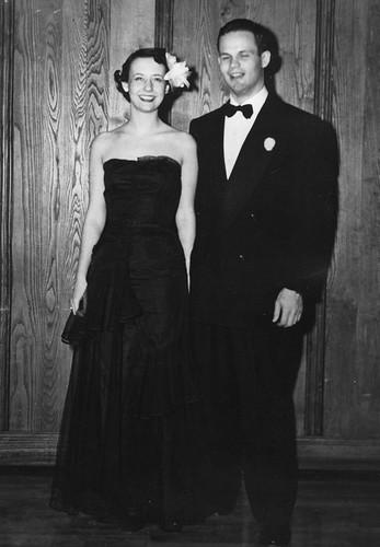 Wade and Eleanor Dickinson 1951