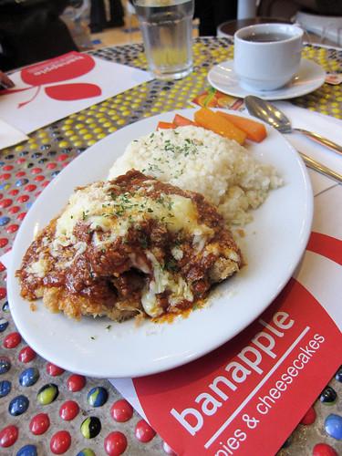 Chicken Breast Parmigiano at Banapple