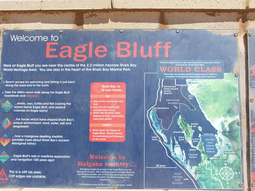 Eagle Bluff Sign