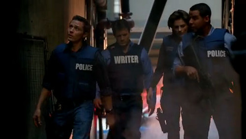 Castle Writer FBI Flack Jacket