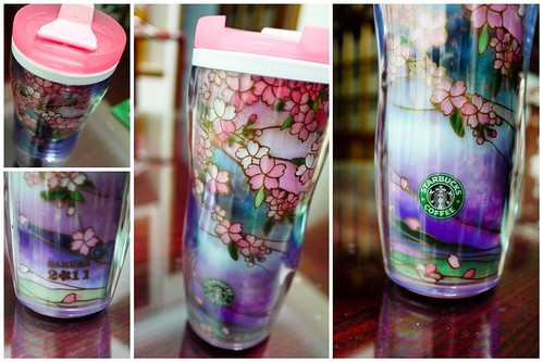 Sakura 2011 Starbucks tumbler