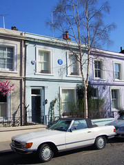 George Orwell's House, Portobello Road - London.
