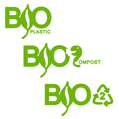 bioplastic logo design contest entry