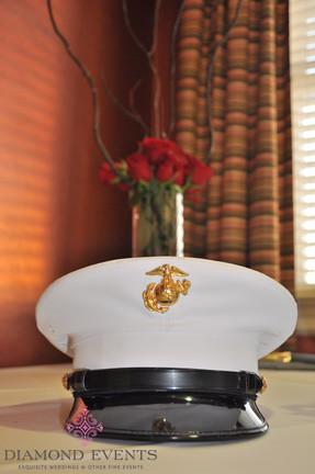 Grooms Marine Cap