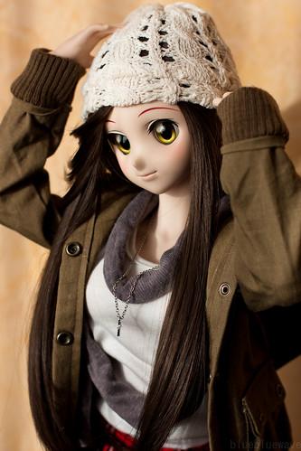 Winter girl Yoko