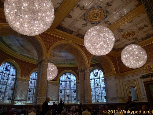 Dining area at Victoria and Albert Museum