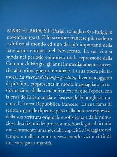 """Marcel Proust, Gelosia, Editori Riuniti 2010; realizzazione editoriale: Clavis, alla cop.: """"La voix du sang, 1961, di René Magritte"""", risvolto della q. di cop. (part.), 2"""