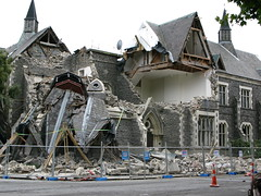 Christchurch earthquake damage - 22 Feb 2011