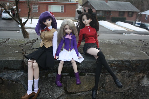 Sakura, Illya and Rin