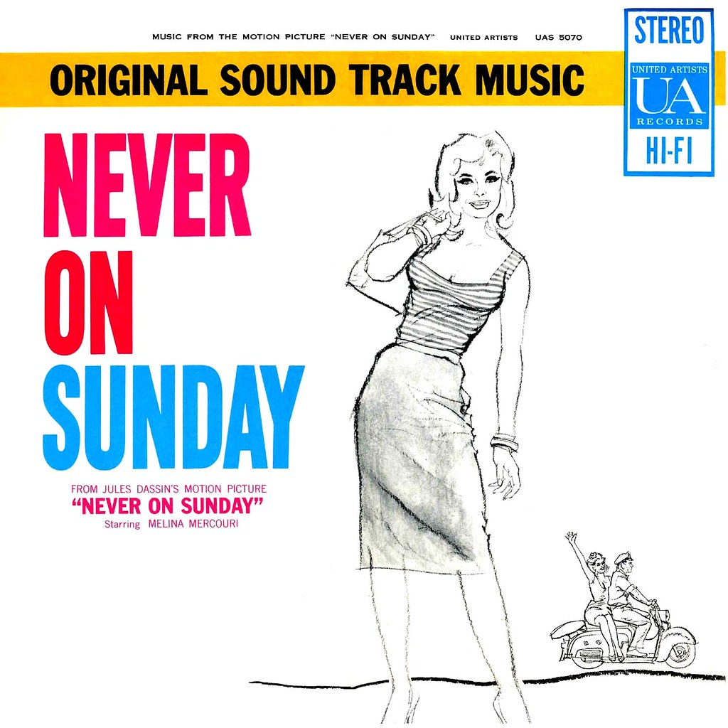 Manos Hadjidakis - Never On Sunday