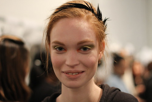 Yigal Azrouel Fall 2011- Backstage (6)