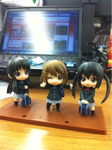 Nendoroid Petit K-ON! Set: TBSishop & Lawson Limited Edition