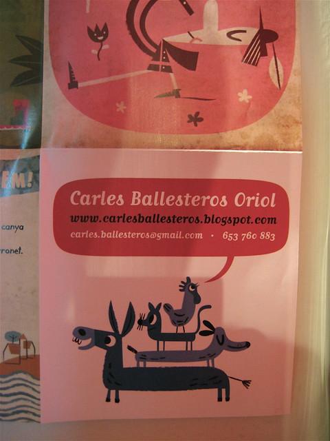Carles Ballestrero Oriol, BCBF 2011