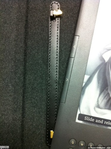 Kindle Leather Cover With Light 04