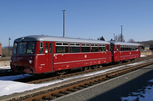BR 172 im Bahnhof Cranzahl