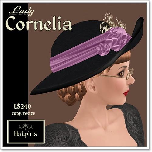 Hatpins - Lady Cornelia