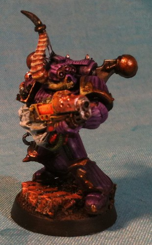 Nurgle Renegade with Plasma Gun