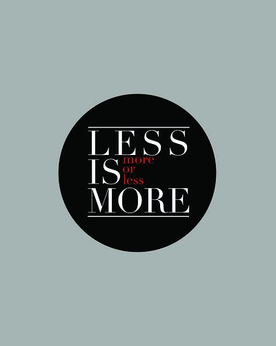 Mies-ian: Less is more... more or less by janmikeuy, on Flickr