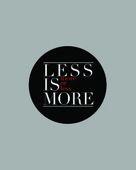 Mies-ian: Less is more... more or less