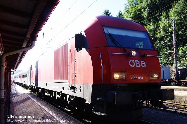從奧地利邊界的小站搭車前往Meidling換車到維也納。