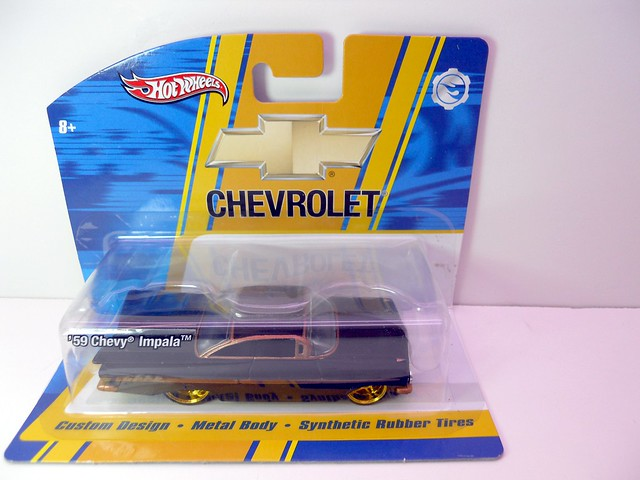 hot wheels custom design '59 chevy impala (1)