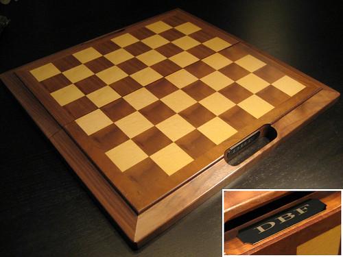 Groomsmen Gift - Wooden Chess Board