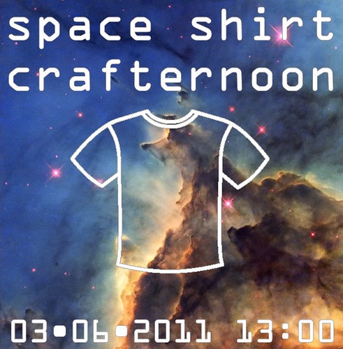 Space Shirt Crafternoon
