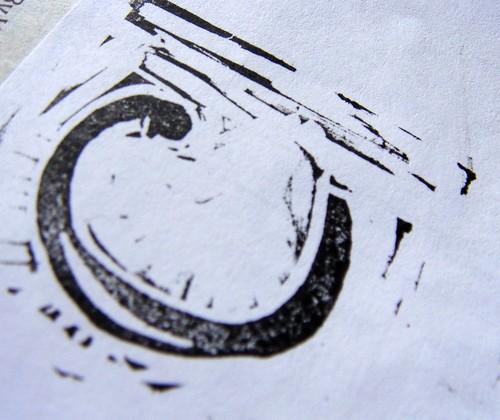 C monogram - more cutting needed