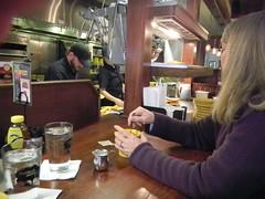 Laura at Tupelo Honey Cafe