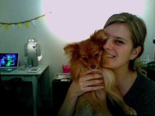 Georgie and I