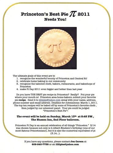 Pi Day Flyer