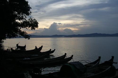 Atardecer desde el río (Old Bagan)