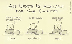 An update / upgrade is available for your [lin...