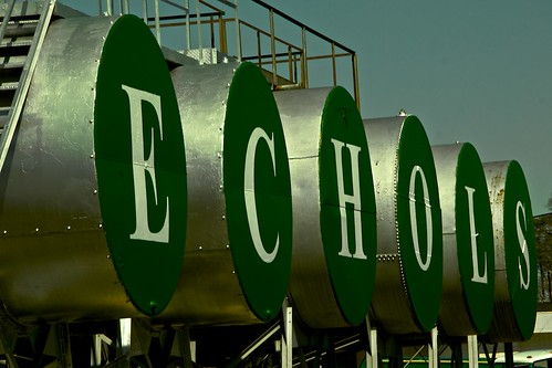 Echols Oil Co. (an hommage)