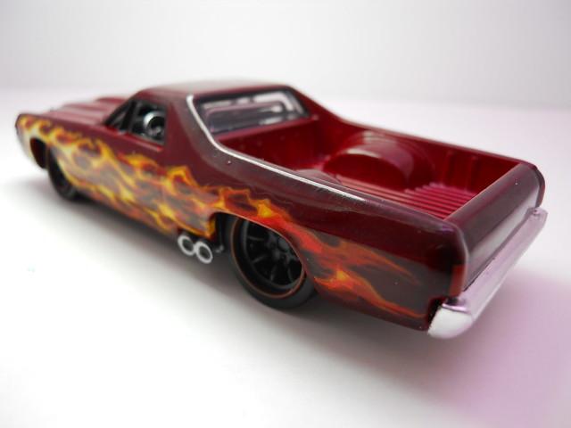 hot wheels 143 custom design '71 Chevy El Camino (4)