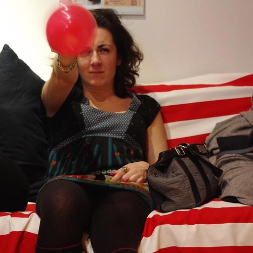 Portrait en ballon II