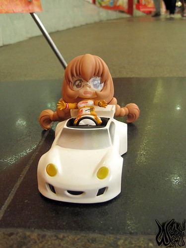 """""""W-whoa ... the car is moving by itself!"""""""
