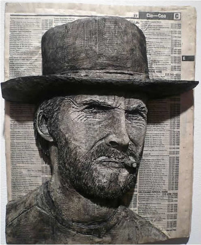 Alex Queral Book Carvings 1 Clint Eastwood