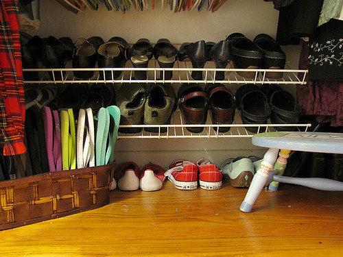 Project Simplify week 1 - Shoe collection after