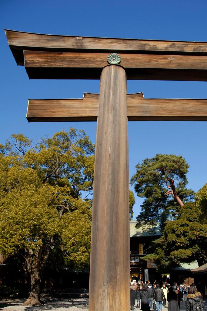 Meiji torii