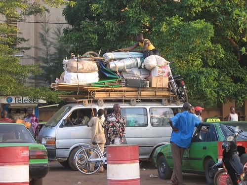 Les transports burkinabé