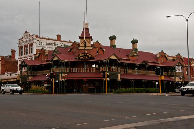 Heritage building in Kalgoorlie
