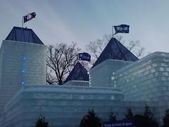 Bonhomme's ice castle