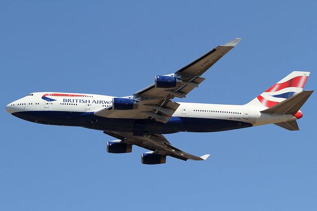 British Airways B747-400(G-CIVM)