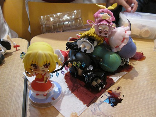 A bunch of Nendoroid pawned by Flandre