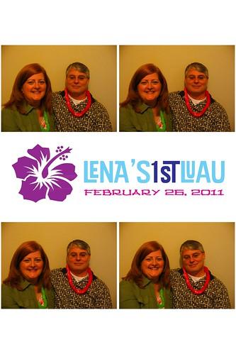 2011 - February - Lena's 1st Birthday [Photobooth]