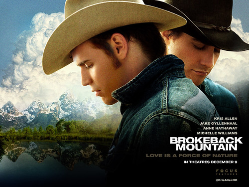Kris Allen alter ego Brokeback mountain man crush Jake Gyllenhaal manip